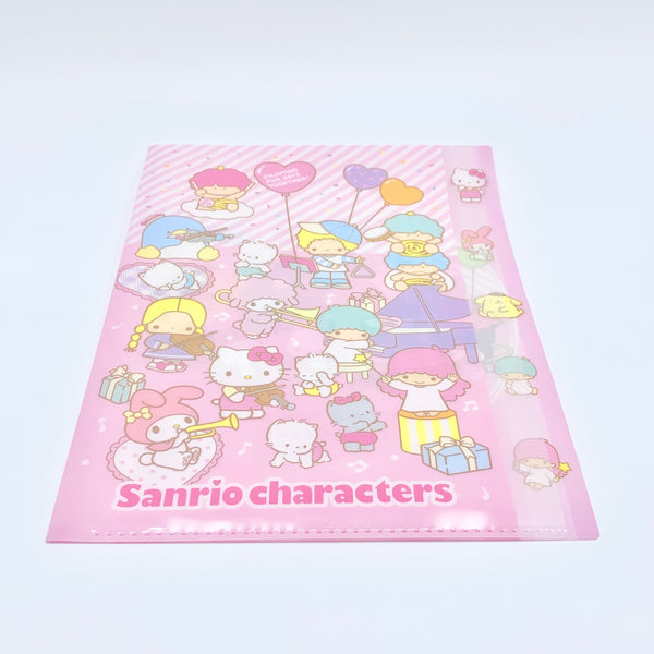 Sanrio Characters Clear File w/ Index
