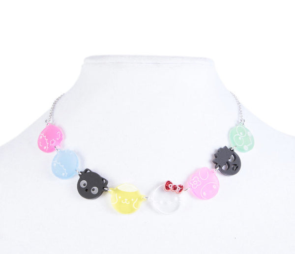 Hello Sanrio Characters Necklace