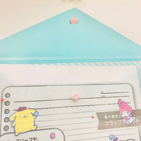 Sanrio Clear Pocket File
