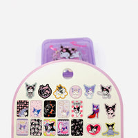 Kuromi Stickers in a Case