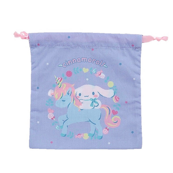 Cinnamoroll Unicorn Drawstring S Bag