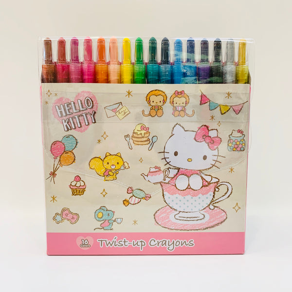 Hello Kitty Tea Party Twist-Up Crayons