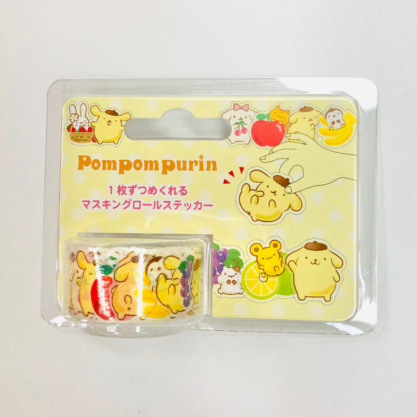 Pompompurin Masking Roll Stickers
