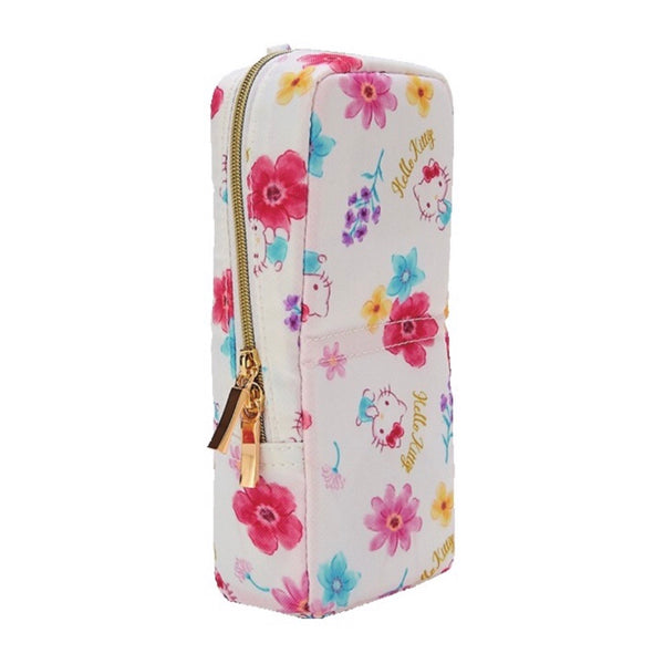 Hello Kitty Floral Tatemo Pen Case