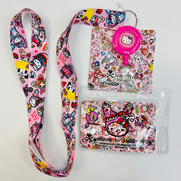 Tokidoki x Hello Kitty Food Tour Lanyard