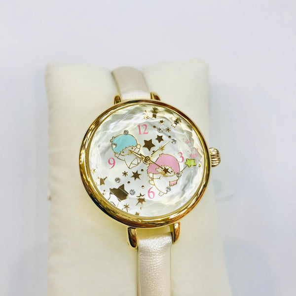 Little Twin Stars Crystal Wristwatch