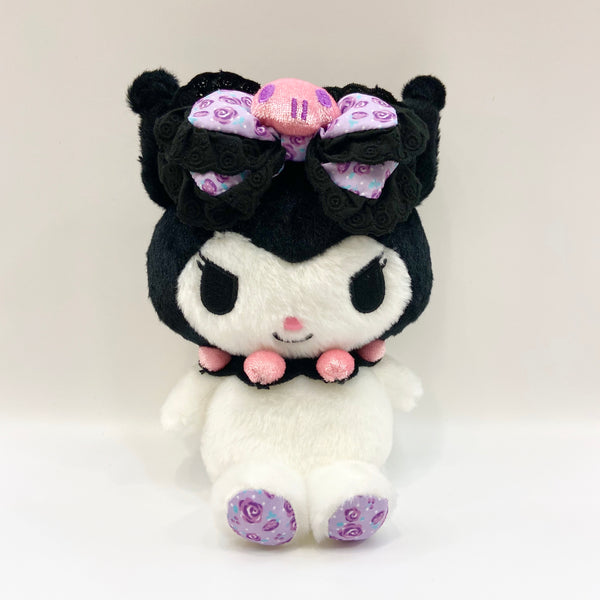 "Kuromi Rose Ribbon 8"" Plush"