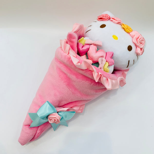 Hello Kitty Plush Flower Bouquet Large