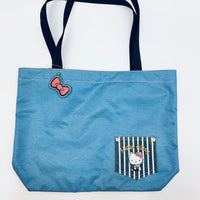 Hello Kitty Denim Tote Bag