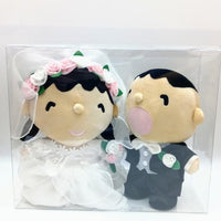 Minna no Tābō Wedding Plush Set