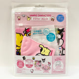 SANRIO CHARACTERS KIDS MASK W BAG & 2 FILTERS STYLE 3