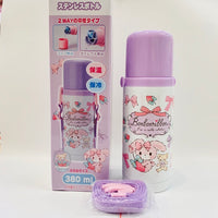 Bonbonribbon Strawberry Stainless Steel Bottle
