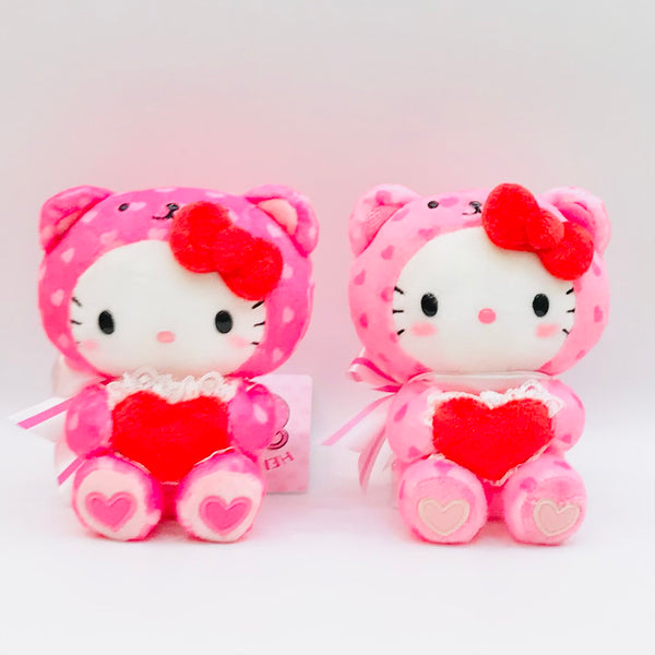 Hello Kitty Bear Valentine Mascot  Plush