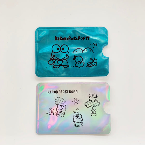 Keroppi RFID 2pc Card Case Set
