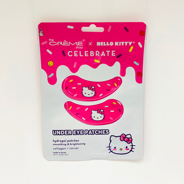 The Crème Shop x Hello Kitty Celebrate Under Eye Patches