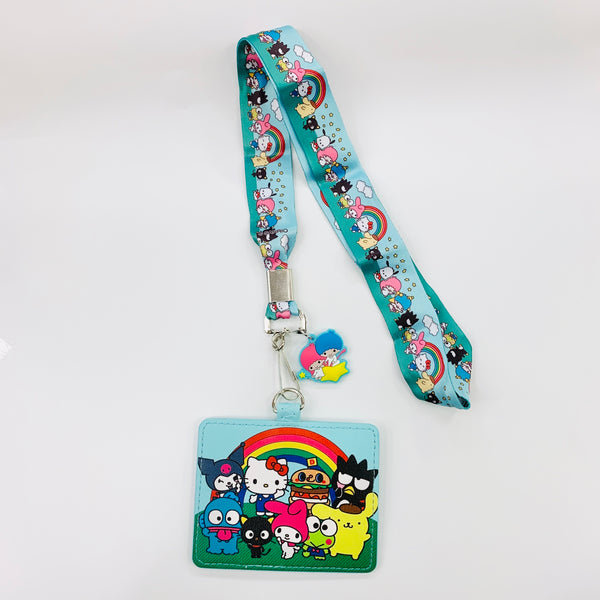 Hello Sanrio x Loungefly Lanyard with Cardholder