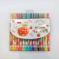 Hello Kitty Twist Crayons 16 Colors