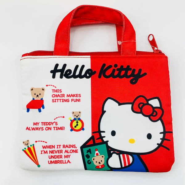 Hello Kitty Red 45th Anniversary Flat Pouch
