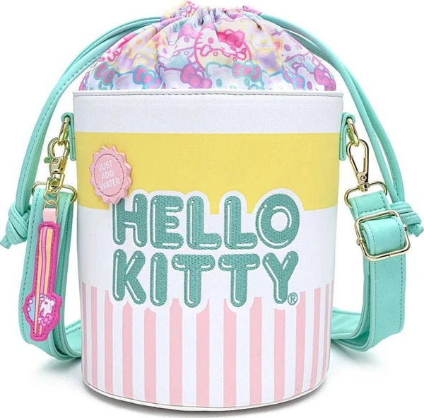 Loungefly x Hello Kitty Kawaii Pastel Bucket Crossbody Bag
