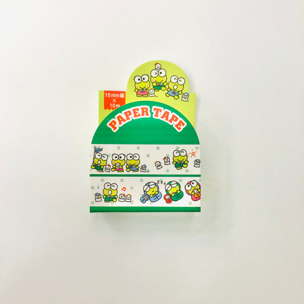 Keroppi 15mm Paper Tape