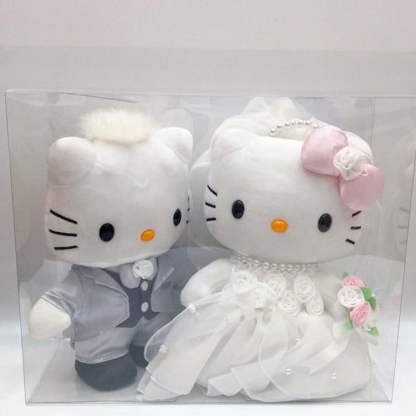 Hello Kitty Wedding Plush Set