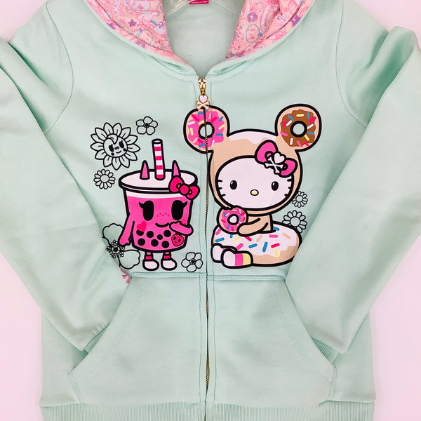 Tokidoki For Hello Kitty Mint Hoodie