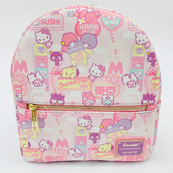 Sanrio x Loungefly Kawaii Pastel Mini Backpack