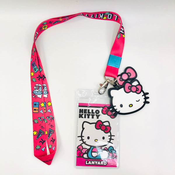 Hello Kitty Winking Lanyard