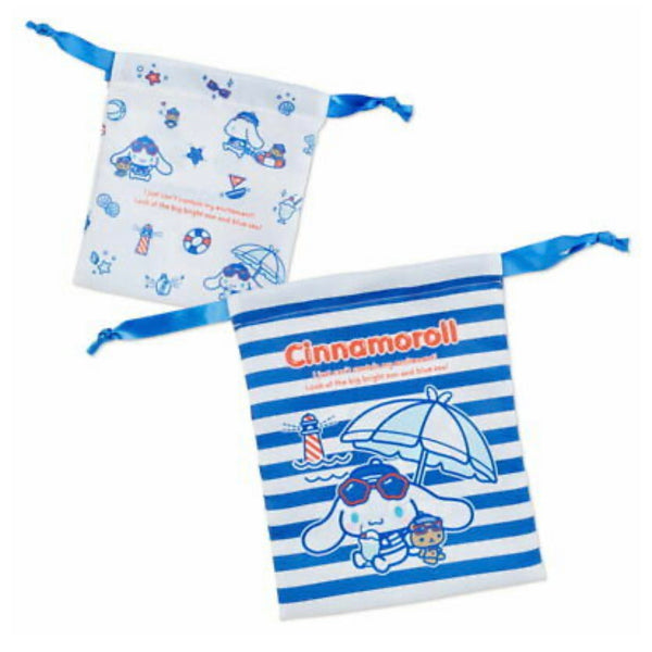 Cinnamoroll Marine Drawstring Bag