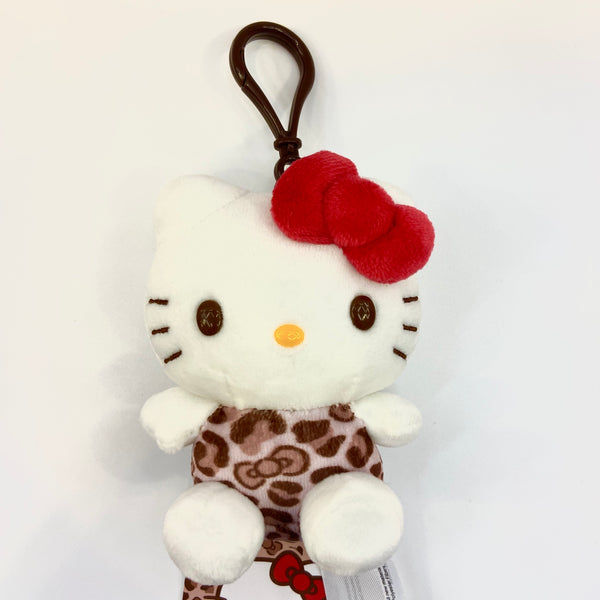 Hello Kitty Leopard Keychain