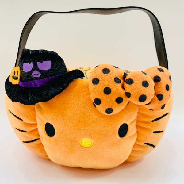 Hello Kitty Halloween Plush Basket
