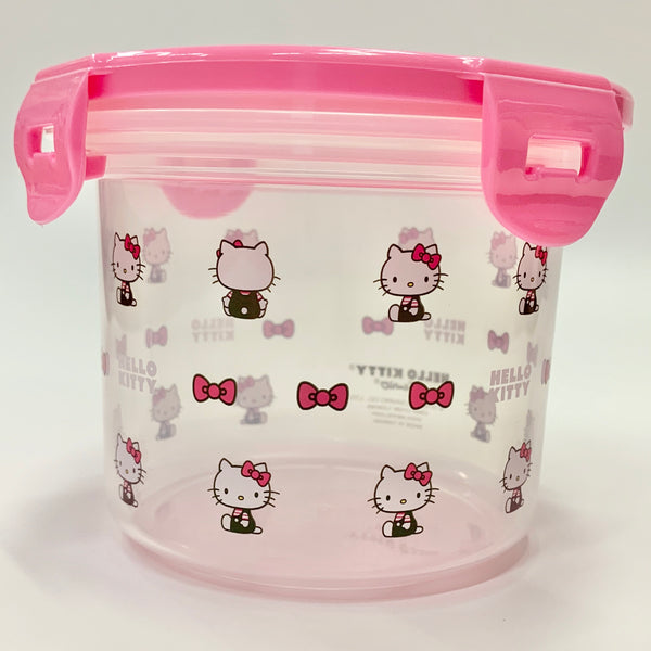 CHARMING PINK HELLO KITTY LUNCH CONTAINER
