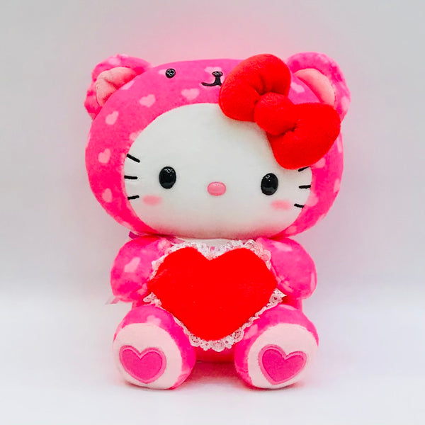 "Hello Kitty Bear Valentine 8"" Plush"