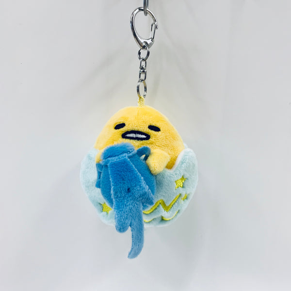 Gudetama Aquarius Keychain Plush