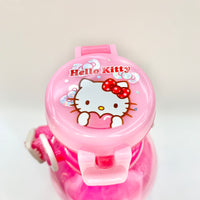 Hello Kitty Water Bottle With Strap