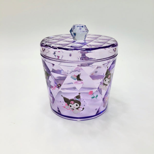 Kuromi Clear Canister