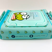 The Crème Shop x Keroppi Complete Cleansing Wipes