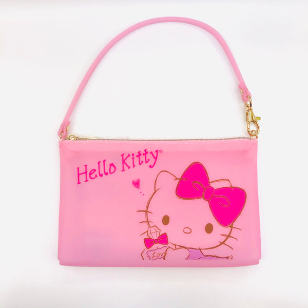 Hello Kitty Pink Silicone Purse
