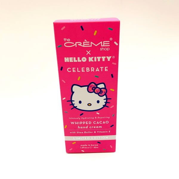 The Crème Shop x Hello Kitty Celebrate Whipped Cacao Hand Cream