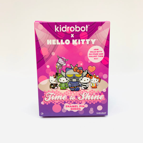 Hello Kitty x Kidrobot Time to Shine Enamel Pin Blind Box