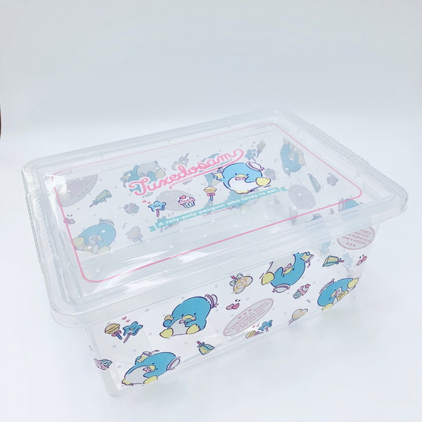 Tuxedosam Clear Storage Box