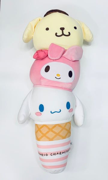 Sanrio Characters Ice Cream Huggable Pillow