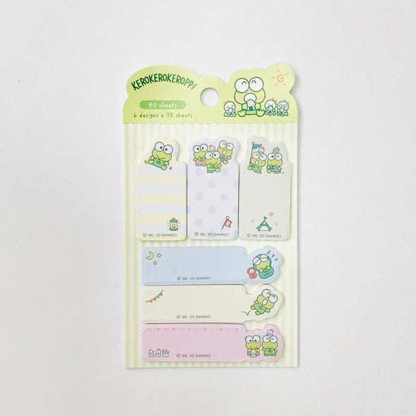 Keroppi Tab Sticky Notes