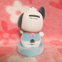 Pochacco Flocked Coin Bank