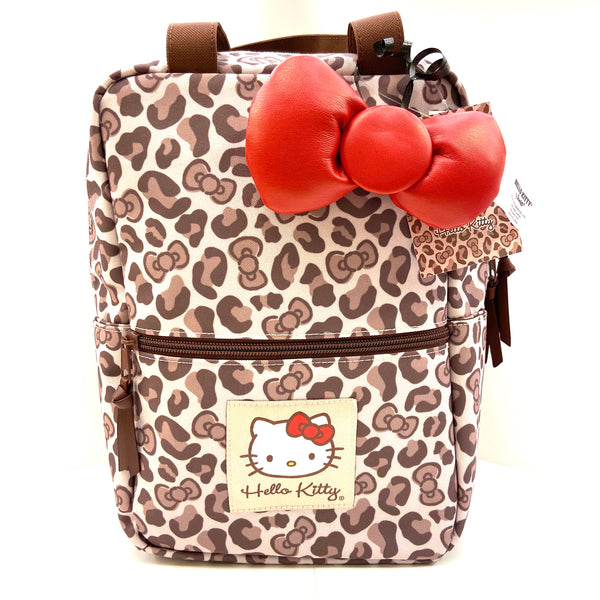 Hello Kitty Leopard 2 Way Petite Backpack