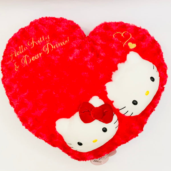 Hello Kitty & Dear Daniel Heart Cushion