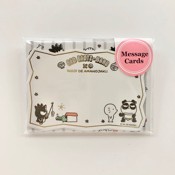 Bad Badtz-Maru Message Cards