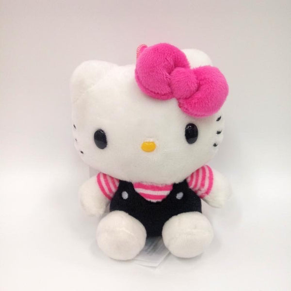 CHARMING PINK HELLO KITTY MASCOT CLIP-ON PLUSH