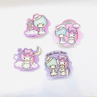 Little Twin Stars Travel Stickers