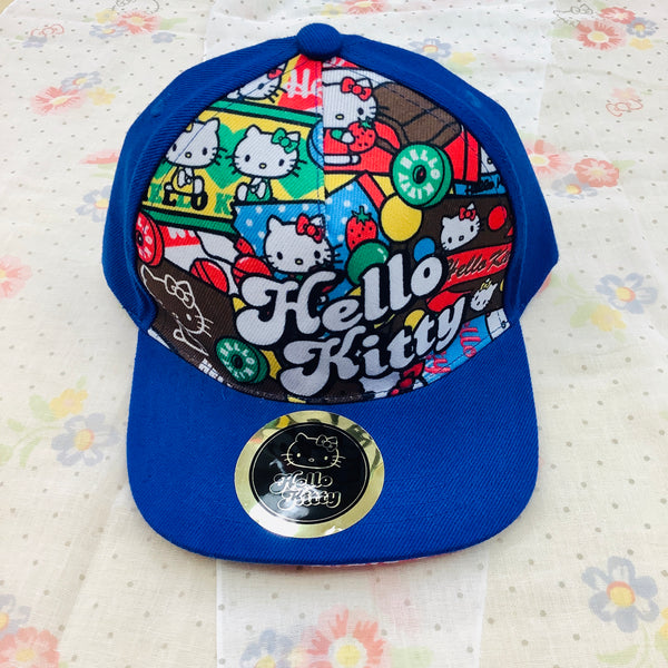 Hello Kitty Patterned Cap